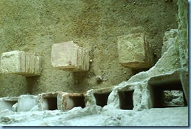 Hypocauste Jublains murs